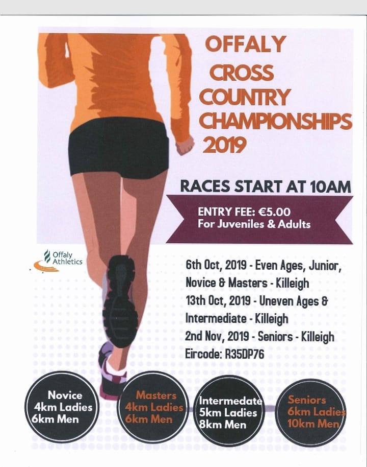Offaly Cross Country 2019