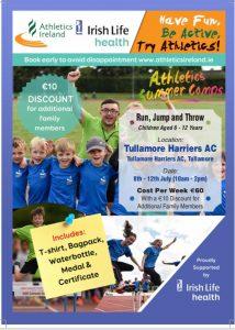 Athletics Ireland Summer Camps