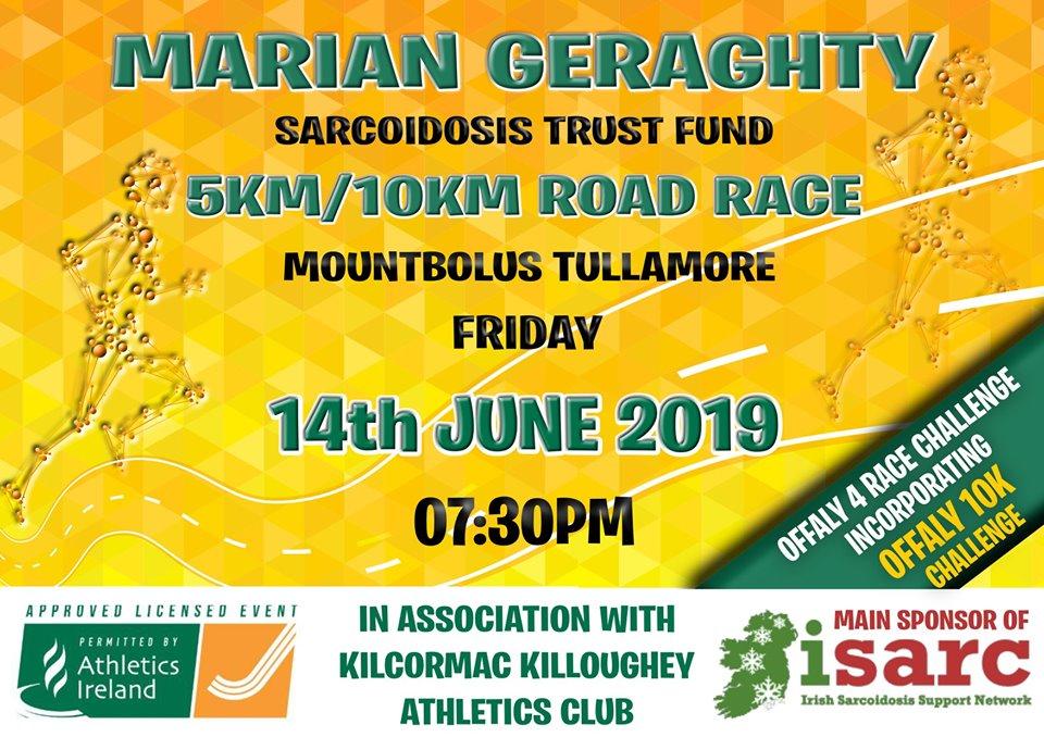 Marian Geraghty 10k Mountbolus, Tullamore